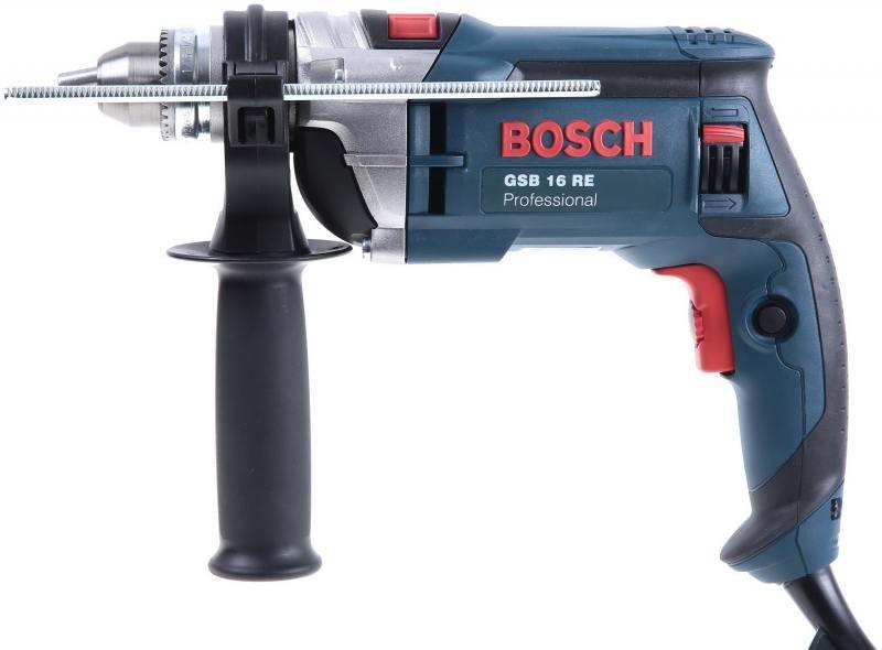 дрель bosch gsb 16 re звп 600